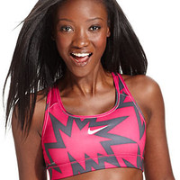 Nike Top, Pro Dri-FIT Printed Sports Bra - Womens Sports Bras - Macy's