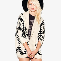 Open Southwestern Cardigan | FOREVER 21 - 2052287690