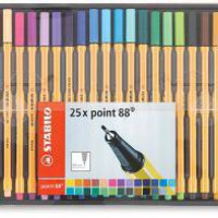 Stabilo Point 88 Fineliner Pens