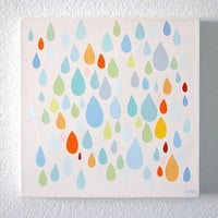 Rain on Me 24x24 canvas by JAustinRyan on Etsy