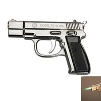Stylish Pistol Shape Cigarette Lighter Black: Kitchen &amp; Dining