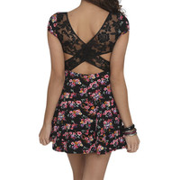 Floral Lace Skater Dress | Shop Dresses at Wet Seal