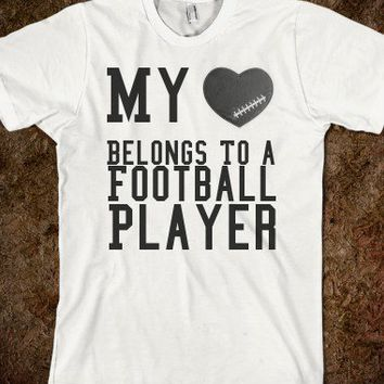 My Heart Belongs To A Football Player - Gabby's Shop