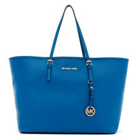 MICHAEL Michael Kors  Medium Jet Set Saffiano Travel Tote - Michael Kors