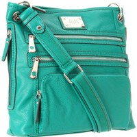 Tyler Rodan Kingston Cross Body,Pine Green,One Size: Clothing