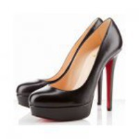 Christian Louboutin Bianca 140mm Platform Pumps Black