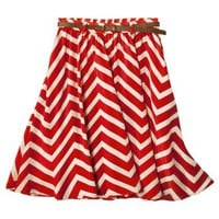 Xhilaration Juniors Belted Skirt - Assorted Colors