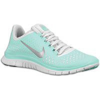 Nike Lady Free 3.0 V4 Running Shoes - 11 - Green: Shoes
