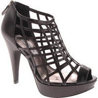 Steve Madden Caged - Black Multi - Free Shipping & Return Shipping - Shoebuy.com