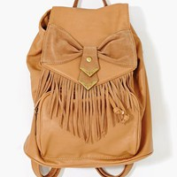 Sweet Fringe Backpack