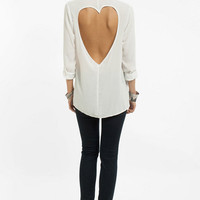 Luv Me Back Button Up Shirt $48