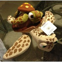 Amazon.com: Disney Park Finding Nemo Crush and Squirt Turtle Plush Doll NEW: Everything Else