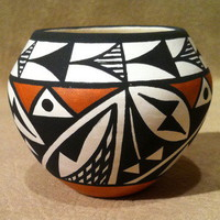 Pottery Acoma Debbie Brown