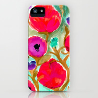 Fiona Flower iPhone Case by Crystal Walen | Society6