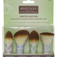 ecoTOOLS Make-Up Kabuki Brush Set: Beauty