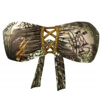 Realtree Girl Camo Swimsuits | Max-1 Camo Bandeau Swimsuits