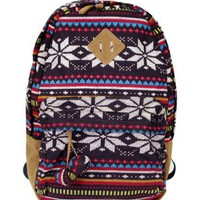 Cool Geometry Totem Backpack Bag