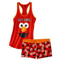 Sesame Street Junior&#x27;s Tank &amp; Short Sleep Set - Elmo