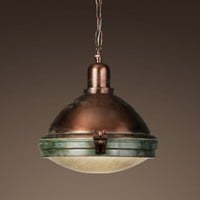 Prismatic Glass Copper Pendant | Pendants | Restoration Hardware