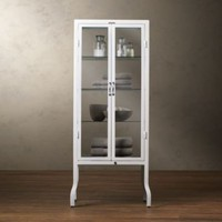 Pharmacy Large Bath Cabinet White | Storage &amp; Furniture | Restoration Hardware