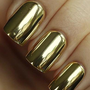 Mirror Silver Nail Wrap Manicure Nail Art [608]