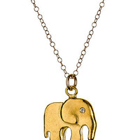 Max & Chloe - Chibi Elephant Pendant Necklace - Max and Chloe