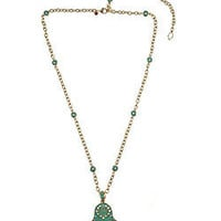 Max &amp; Chloe - Lauren G. Adams Blue Hamsa Pendant Necklace - Max and Chloe