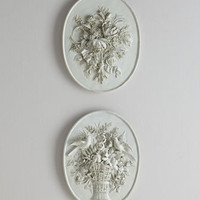 Floral Plaques