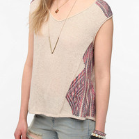 Ecote Float Sleeveless Sweater Tunic