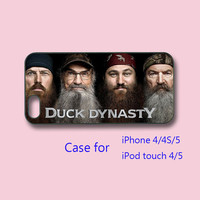 Duck Dynasty -- iPhone 4  case, iphone 4s case,iphone 5 Case ipod 4 / 5 case for choice