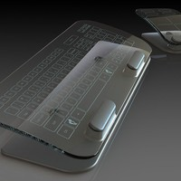 Multi-Touch Keyboard and Mouse