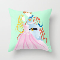 Disney I Sleeping Beauty Throw Pillow by Jessica Slater Design & Illustration