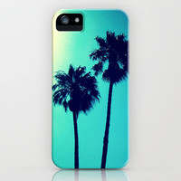 Palm Trees iPhone Case by Derek Fleener | Society6