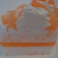Tangerine Dreams Shea Butter Glycerin soap