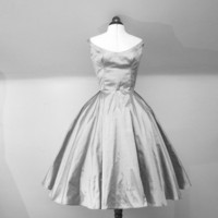 Sarah Jane  Silk Taffeta 1950s  Wedding by AlexandraKingBridal