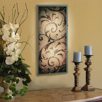 Illuminada - Tuscan Scroll Wall Sconce Light (8822) - Small - Wall Sconce Lights