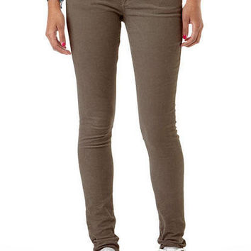 Olivia Low-Rise Cord Jegging