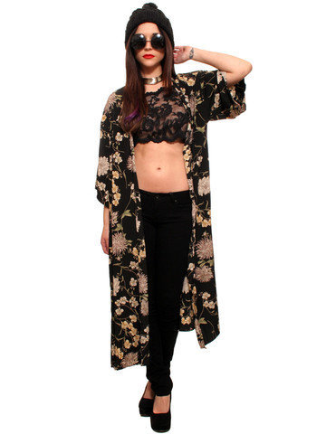 GYPSY WARRIOR - Stevie Floral Kimono Jacket