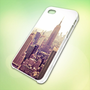 LHP004 Old Retro New York City Photo design for iPhone 5 Black Plastic Case - leave message for White Case / iPhone 4 or iPhone 4S Case