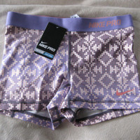 "NWT Nike Women's Pro 2.5"" Spandex Compression Shorts Medium"