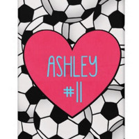 Custom Soccer Player Phone Case