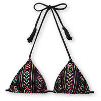 Billabong Diem Tribal Print Triangle Bikini Top