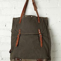 Free People Distressed Cargo Supply Tote