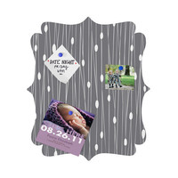 DENY Designs Home Accessories | Heather Dutton Gray Entangled Quatrefoil Magnet Board