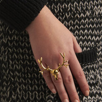 Buck and Forth Ring | Mod Retro Vintage Rings | ModCloth.com