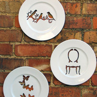 Silhoutte Wall Plate Collection by Andrew Tanner