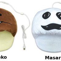 Nameko Saibai Fungi USB Heated Slippers