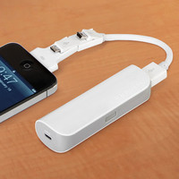 The Cordless Pocket iPhone And USB Charger - Hammacher Schlemmer