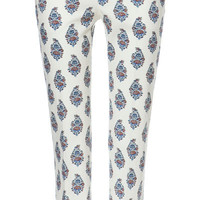 STRAIGHT PRINTED TROUSERS - Woman - New this week - ZARA United States