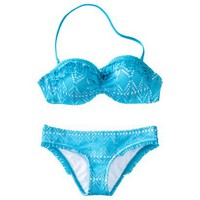Junior's Crochet 2-Piece Bikini Swimsuit